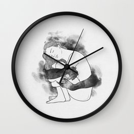 Unknown peace. Wall Clock