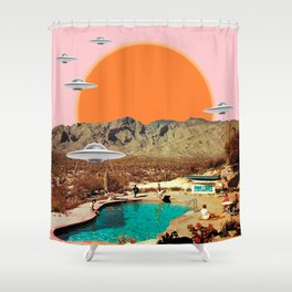 They've arrived!  Shower Curtain