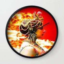 Mata Hari Wall Clock