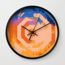 Octagon Maniac | Minimalist | Abstract | Modern | Shapes | Geometrix Wall Clock