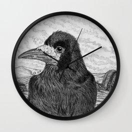 Hadrian's Rook Wall Clock