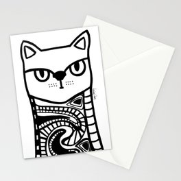 Nive Lives of a Cat Stationery Cards