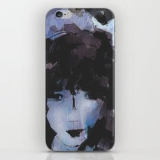Abstract - Knowing Blue iPhone & iPod Skin