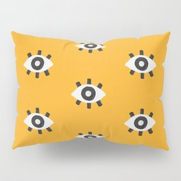 Evil Eye Dots – Marigold Palette Pillow Sham