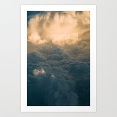 Above the Clouds I Art Print