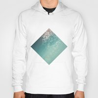 biology Hoodies featuring Fresh summer abstract background. Connecting dots, lens flare by AMULET
