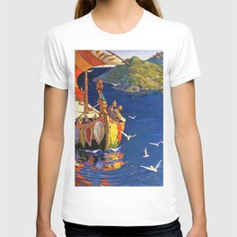 Nicholas Roerich - Guests From Overseas - Digital Remastered Edition T-shirt