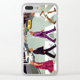HIPSTORY - Come Together Clear iPhone Case