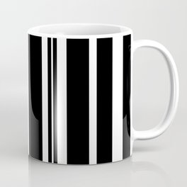 Black and white stripes 1 Coffee Mug