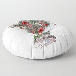 Woman II Floor Pillow