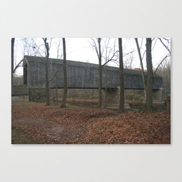 Schofield-Ford Covered Bridge Canvas Print