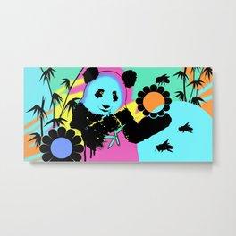 Hyper Panda! Metal Print