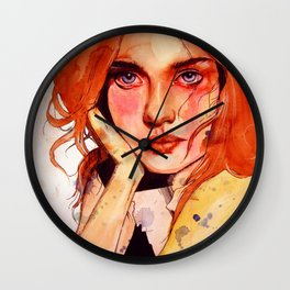 Motley Wall Clock