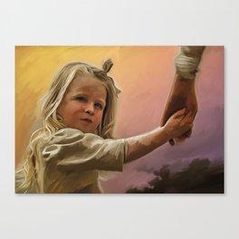 young Emma Canvas Print
