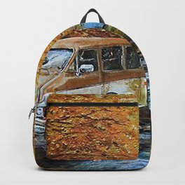 Living in a Van Down by the River Backpack