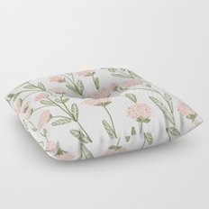 Rose Garden Pattern Floor Pillow