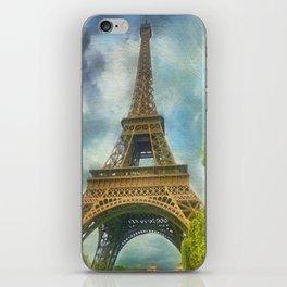 Eiffel Tower - La Tour Eiffel iPhone Skin