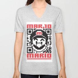 MARIO BROS Unisex V-Neck
