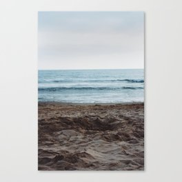 The calm. Canvas Print