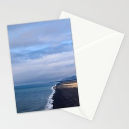 BLACK BEACH - iceland Stationery Cards