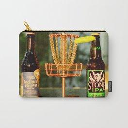 Disc Golf Basket Beer Innova Discraft Vibram Most fun Carry-All Pouch