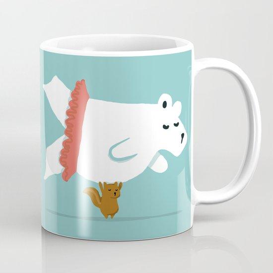 You Lift Me Up - Polar bear doing ballet Mug