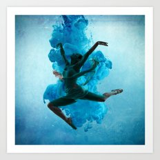 Art of Belly Dance Art Print