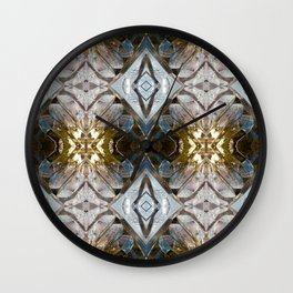 Pattern 38 - Ice Wall Clock