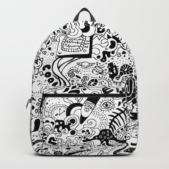 cute graphite Backpack