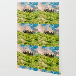 Hills of Tuscany Wallpaper