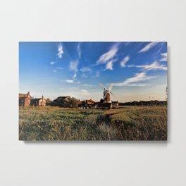 Cley Windmill Metal Print