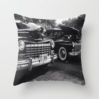 old school Throw Pillows featuring Old School by Xneon
