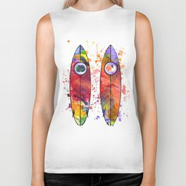 Surfboards Biker Tank