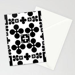 English half-timbered Tudor house pattern 2 Stationery Cards