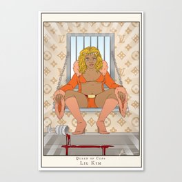Queen of Cups - Lil Kim Canvas Print