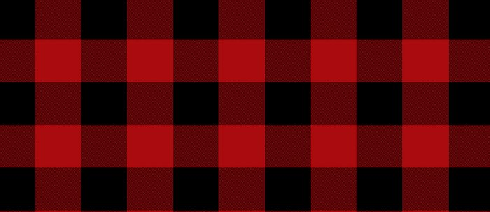 Red & Black Buffalo Plaid Coffee Mug
