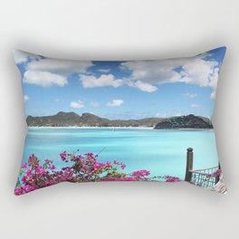 Caribbean Views Rectangular Pillow