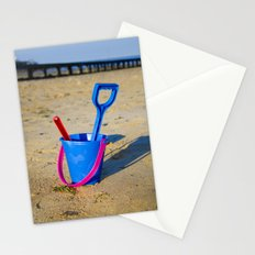 Beach play time Stationery Cards