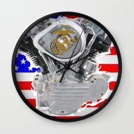 Semper Fidelis Wall Clock