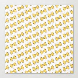 Pasta bow Canvas Print