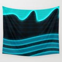 underwater Wall Tapestries featuring Underwater by Display Dezign
