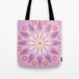 Mandala of Love - מנדלה אהבה Tote Bag