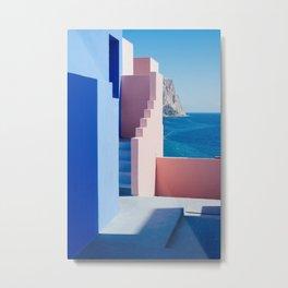 Colour architecture Metal Print
