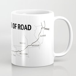 Mother Of Road - Route 66 (white) Coffee Mug