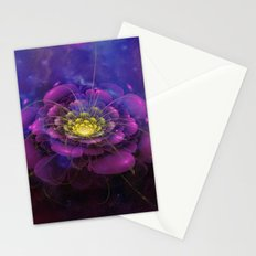A Beautiful Fractal Flower 3 Stationery Cards