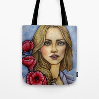 "les miserables Tote Bags featuring ""Les Miserables"" by musentango87"