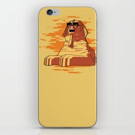 Clever sphinx disguise iPhone Skin