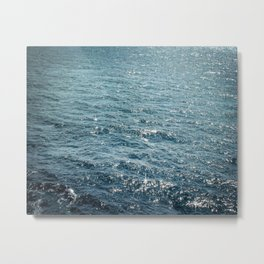 The Sparkle of the Sea Metal Print
