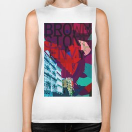 """Brownstone Envy"" Biker Tank"