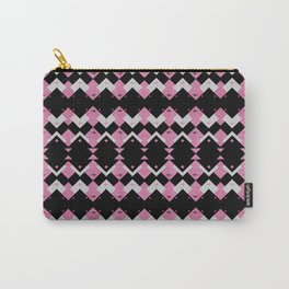 Pink Flamingos Art Deco Pattern Carry-All Pouch